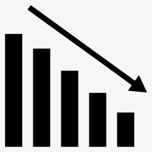 99 993637 bar graph icon png down graph icon png