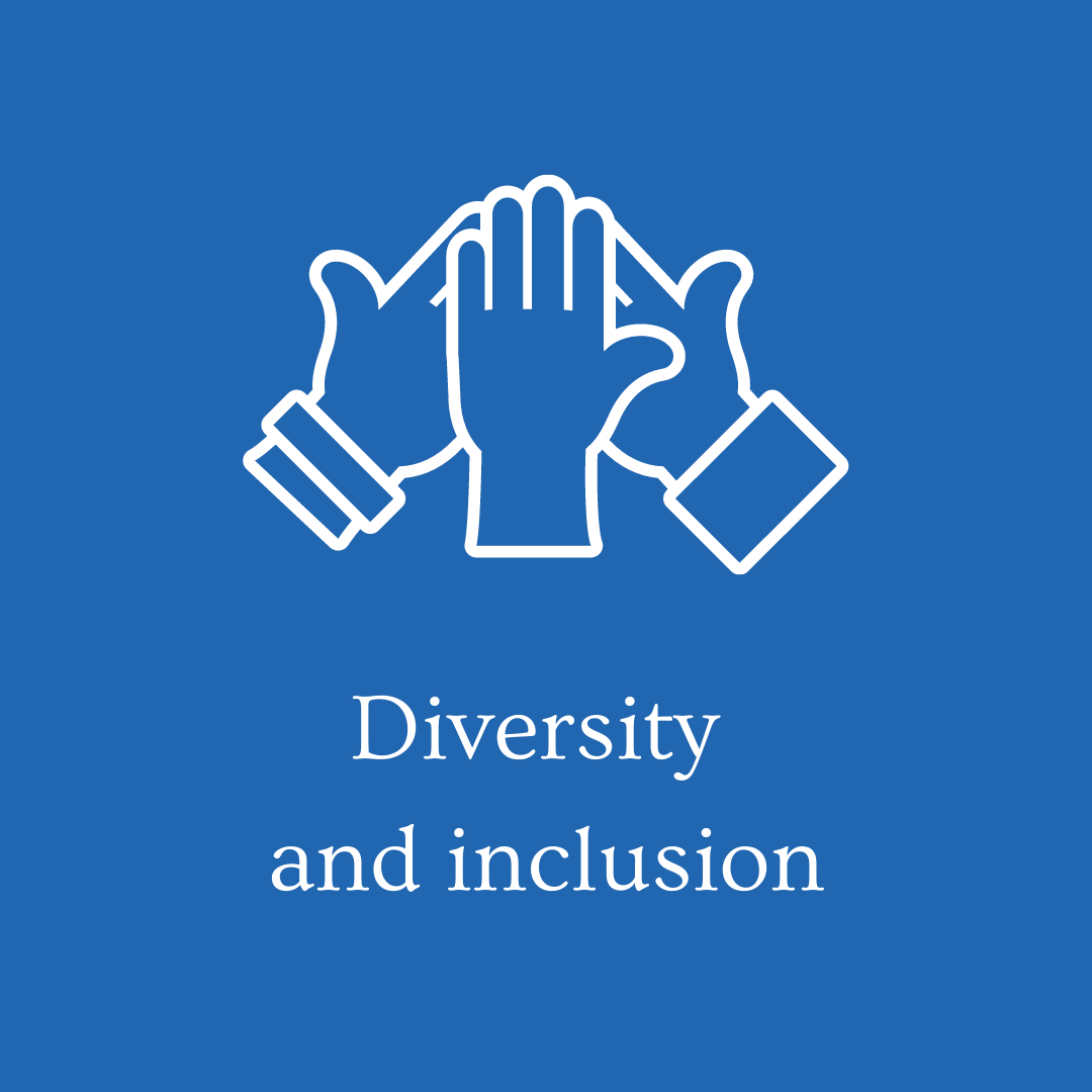 Diversity and inclusion 5