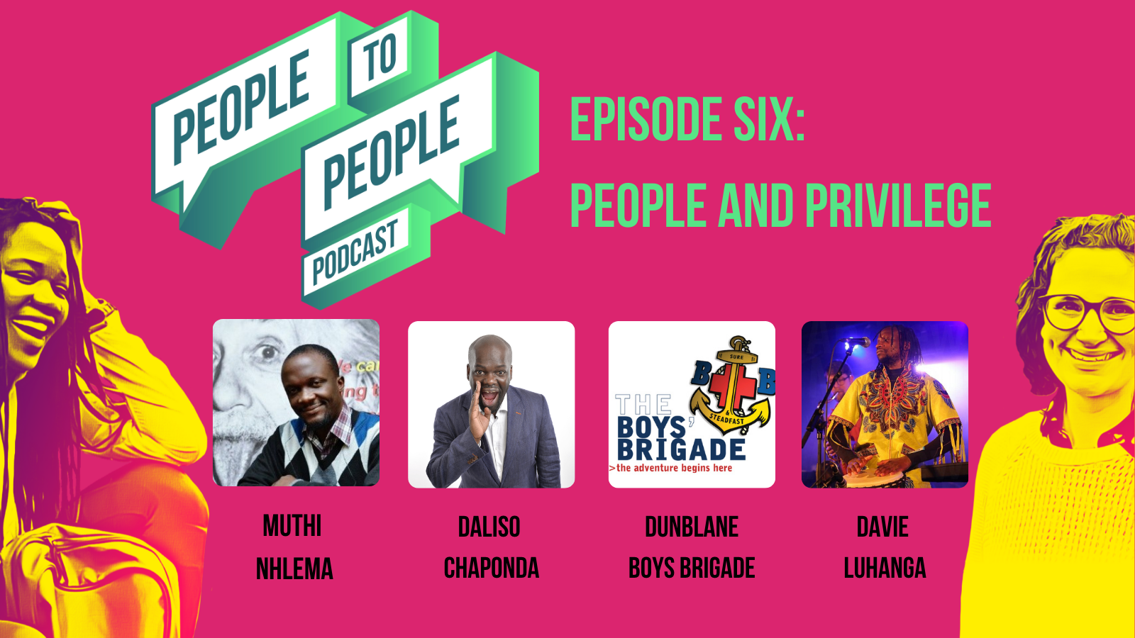 Episode Six People and Privilege Twitter