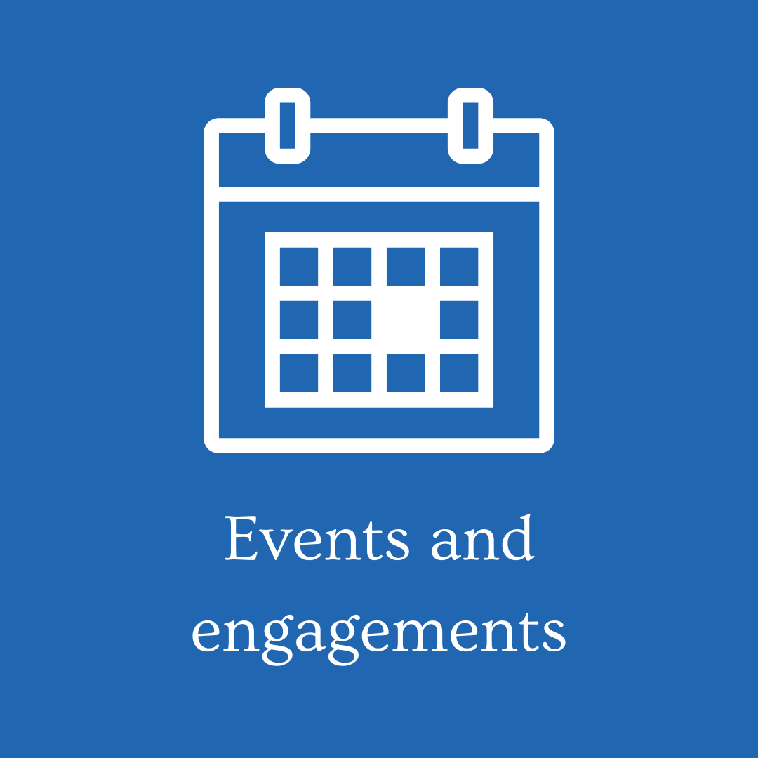 Events and engagements 2