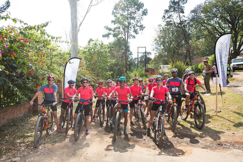 VN Bike Race Start Line Zomba