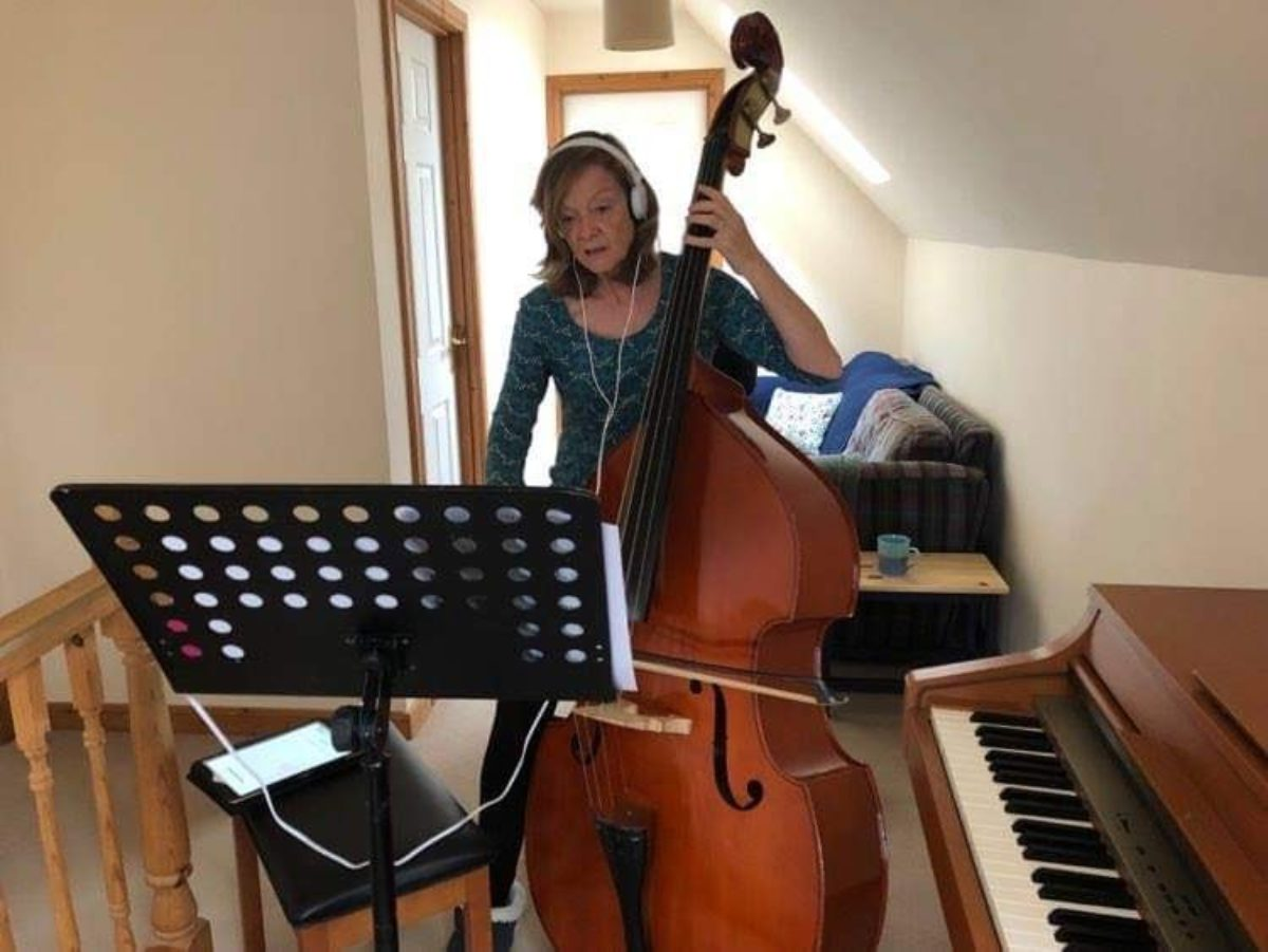 15 Gillian double bass
