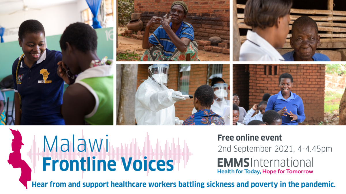 Malawi Frontline Voices free online event 2 Sept with call to action