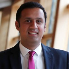 Anas Sarwar MSP Leader of the Scottish Labour Party