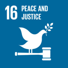 Goal 16 - Peace and Justice